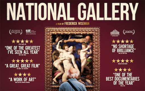 the poster for Frederick Wiseman's National Gallery