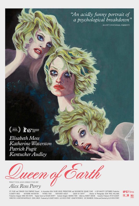 the poster for Queen of Earth