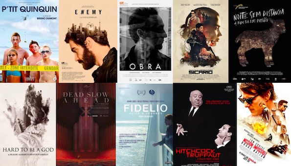 the posters for films 11 to 20 in my top 20