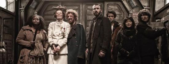 an image of multiple cast members in Snowpiercer