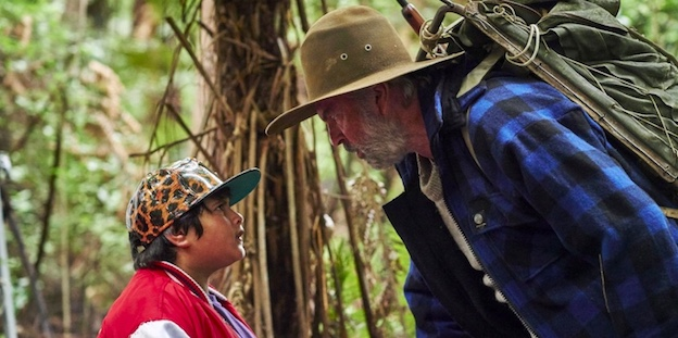 a moment of confrontation in Hunt for the Wilderpeople
