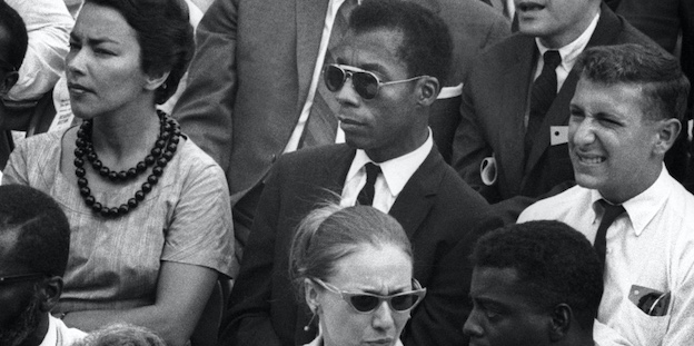 a still from James Baldwin documentary I Am Not Your Negro