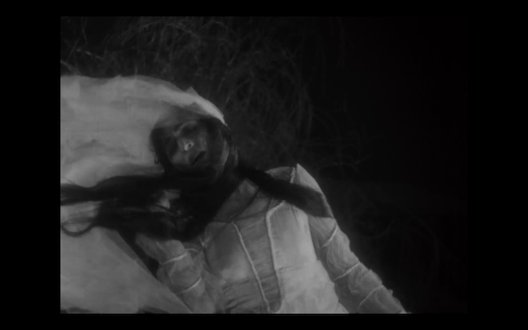 Image from Epstein's The Fall of the House of Usher (1928)